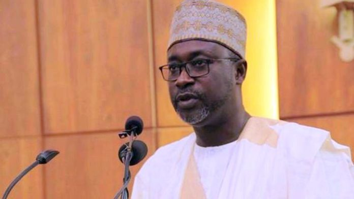 Minister of Water Resources, Engr. Suleiman H. Adamu