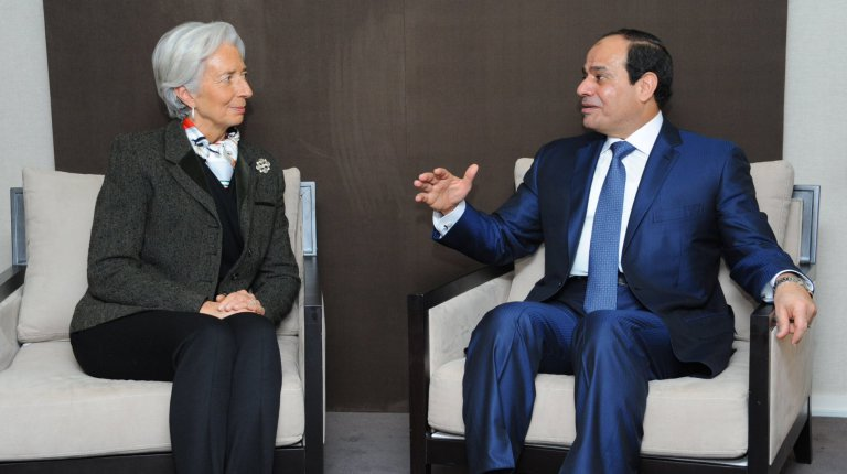 IMF Completes First Review under the Extended Fund Facility with Egypt