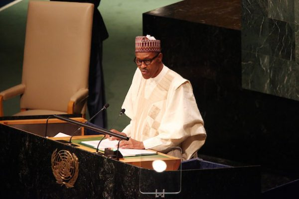 President Buhari Original Speech at UN General Assembly