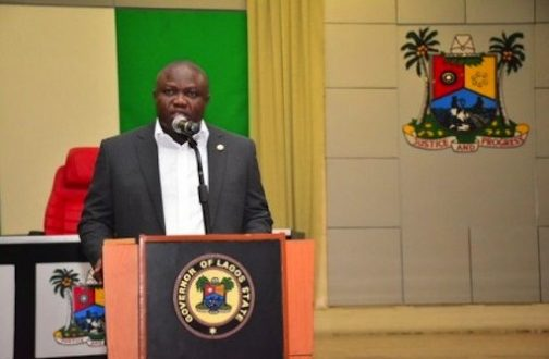 Ambode mourns death of first Vice President, Ekwueme