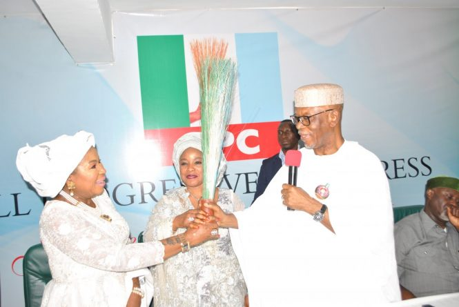 Wife of Former PDP National Chairman Mariam Nneamaka Ali Joins APC