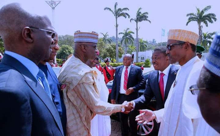 Liberian Political Crisis will be resolved  Constitutionally, President  Buhari tells Ecowas Chairman