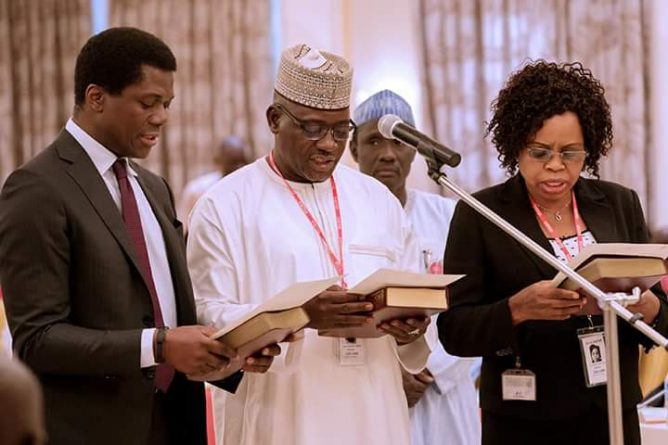 President Buhari inaugurates Audit Committee on Recoveries