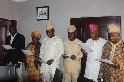 Alimosho Local Government Sworn in SLG and Supervisory Councillors
