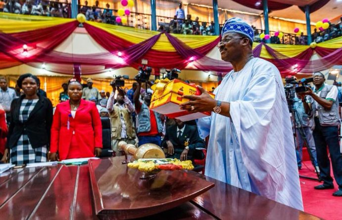 Ajimobi Congratulates Oyo Assembly on Rancour-Free Election of New Speaker