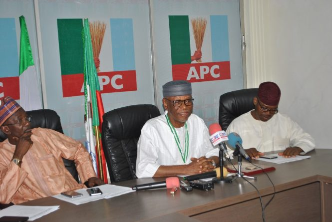 APC Felicitates With President Muhammadu Buhari on 75th Birthday