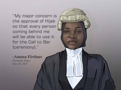 Firdaus Amasa: A word is enough for the Hijab haters By Rasheed Abubakar