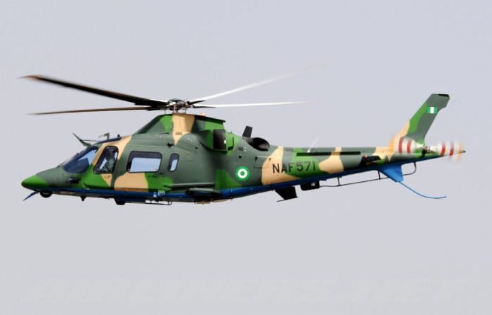 Air Force loses helicopter in combat
