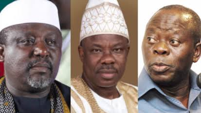 Anti-Party: APC NWC Suspends Amosun, Okorocha, Usani, Okechukwu