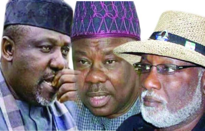 APC NWC Lifts Suspension On Akeredolu, Amosun, Okorocha, Okechukwu, Usani
